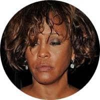 Whitney Houston drogok