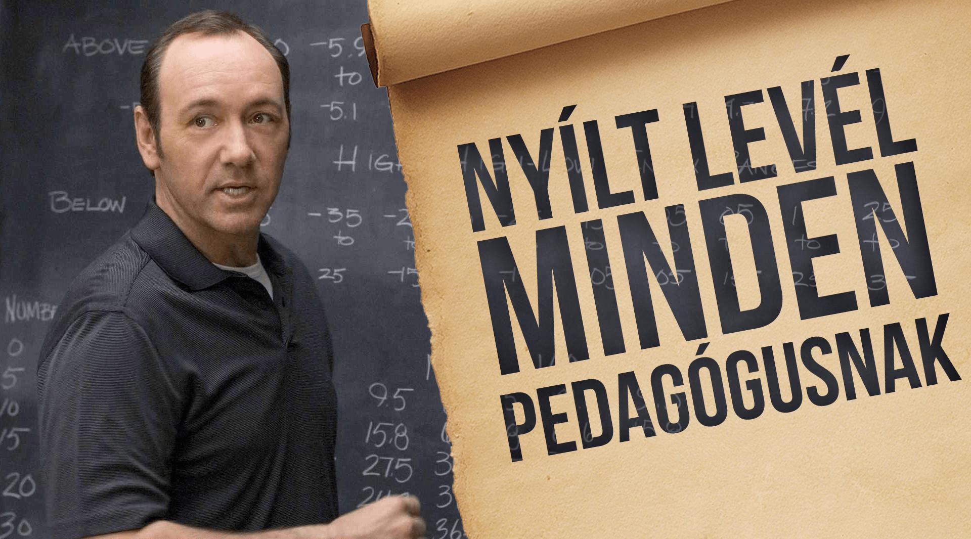 nyilt level pedagogus